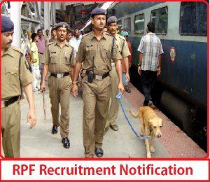 rpf bharti 2022 notification
